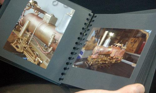 Fotos dokumentieren die Arbeitsschritte